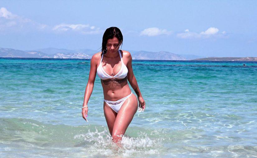 Canela Skin y Nacho Vidal en Ibiza